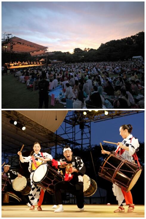 Shiroyama Concerts, Earth Celebration 2013 (Photos: Maiko Miyagawa)